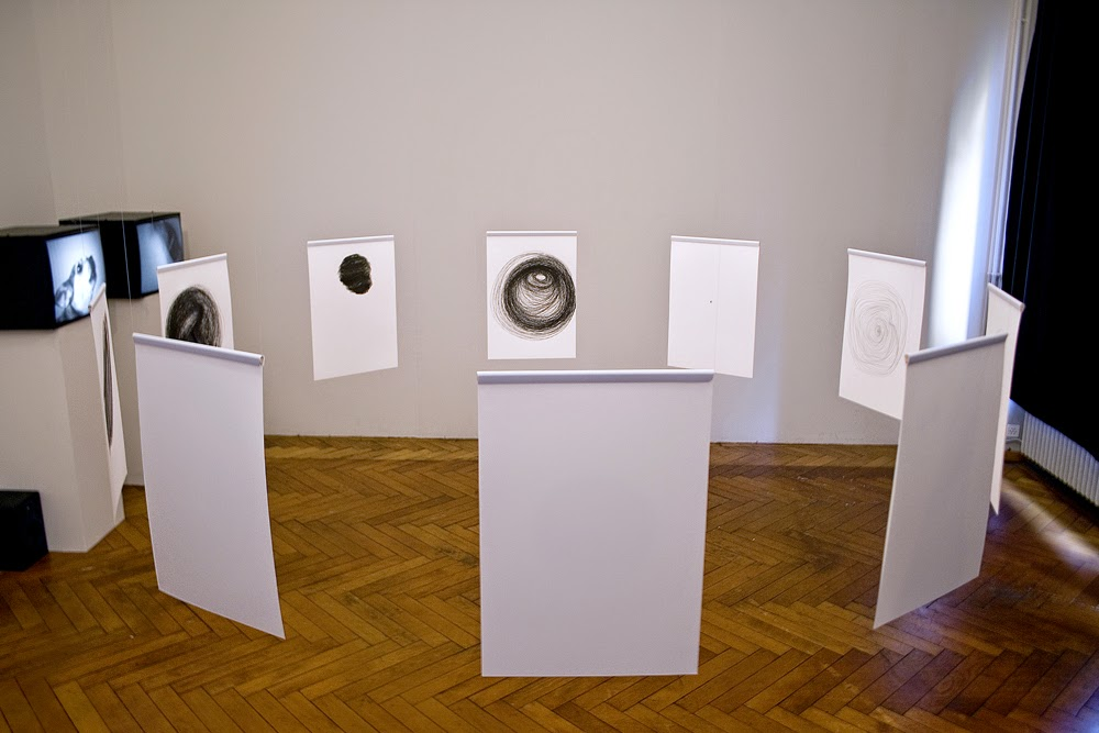 Spiral-drawing-Installation-2010-Progr-Bern-Switzerland
